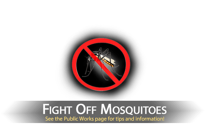 Fight off mosquitoes!