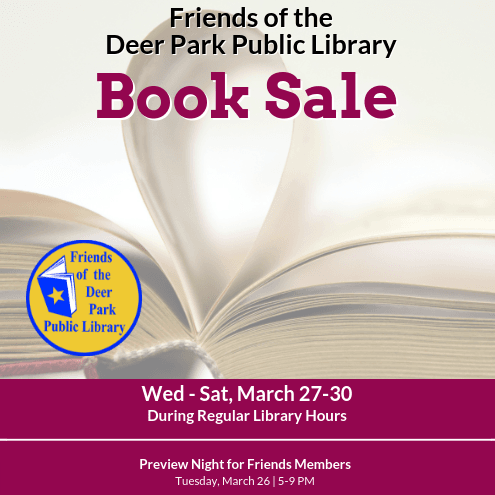 Book Sale - March 2019 - web