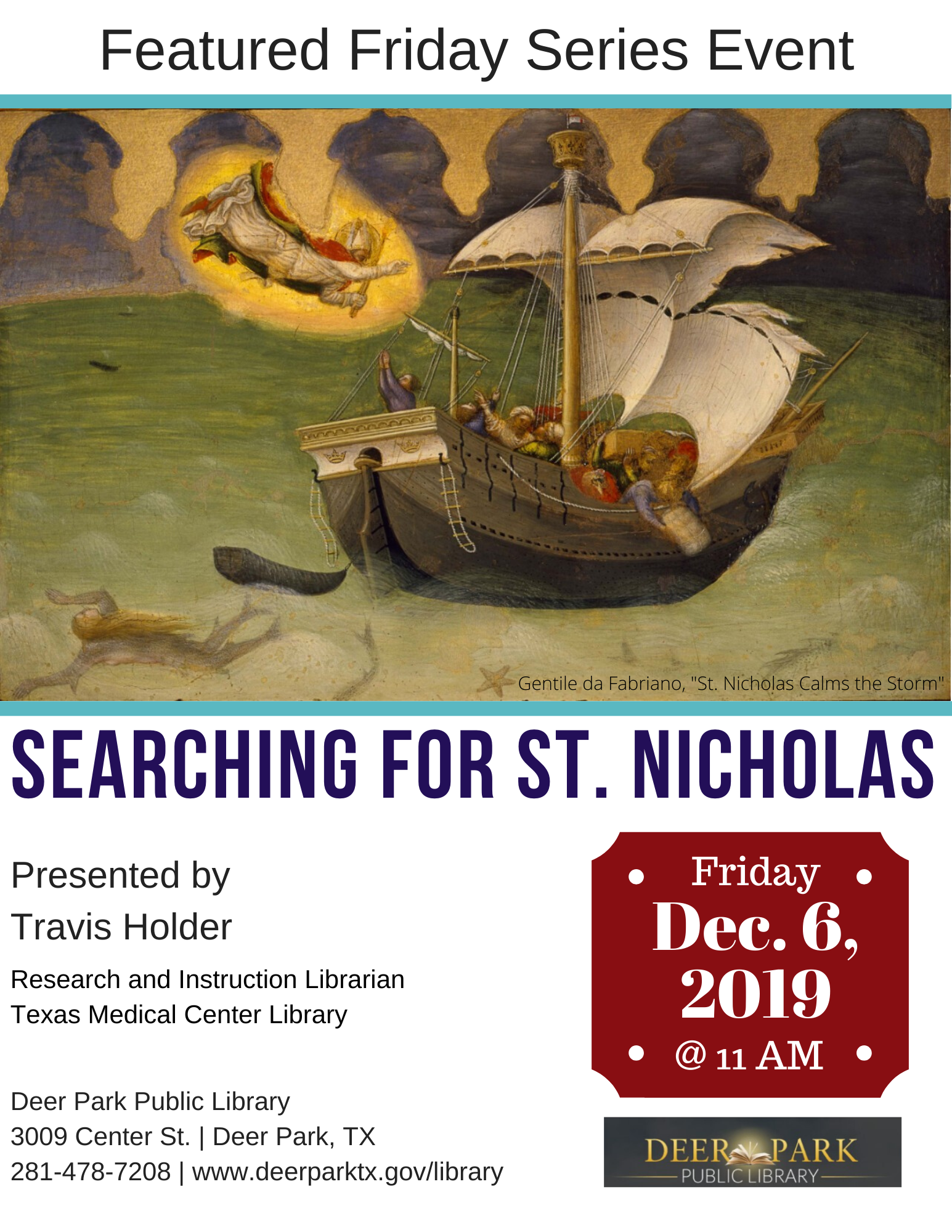 Searching For St Nicholas